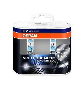 2-x-Bombillas-Osram-Night-Breaker-Unlimited-H7-Faros-Halogeno-Lamparas-Luz-Coche