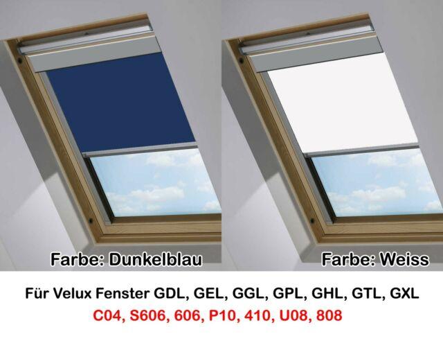neue Produkte für modisches und attraktives Paket mehrere farben Dachfenster Rollo Verdunkelung Dachfensterrollo Thermo passend für Velux  Fenster