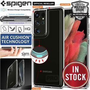 For Samsung Galaxy S21/Plus/Ultra Case Genuine SPIGEN Ultra Hybrid Hard Cover