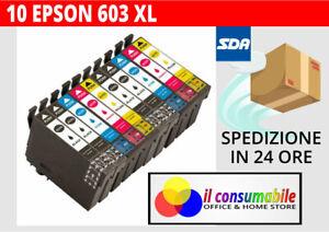 KIT-10-INKJET-T603XL-COMP-EPSON-Epson-WorkForce-WF-2810-2815-2830-2850