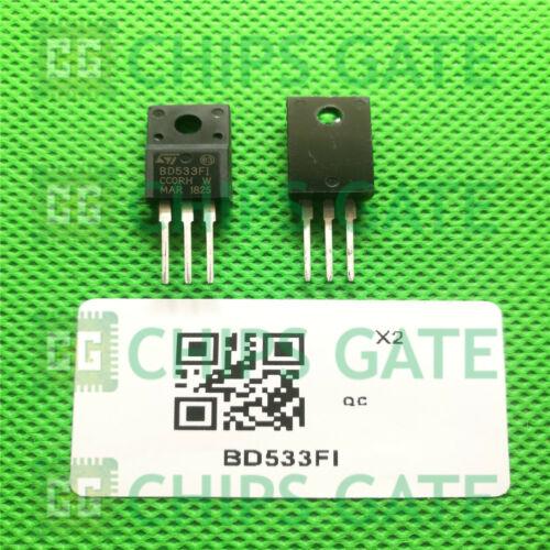 15PCS BD533FI Encapsulation:TO-220,Triac; Thyristor Type:Standard; Peak