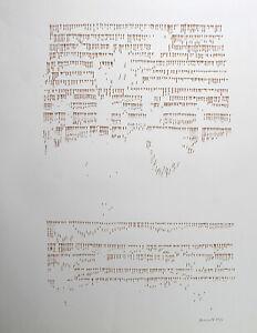 Oskar Holweck-soggetto 74/6. mano firmati farbsieb pressione, gessetti arte-Edition.