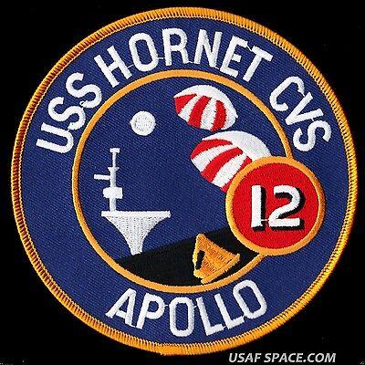 CVS-12 USS Hornet Ship Patch Apollo 11 Recovery