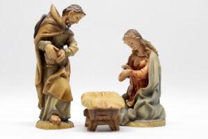 ANRI-Weihnachtsfiguren-Krippenfiguren-Bacher-Heilige-Familie-coloriert