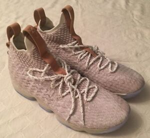 new concept a4d12 18ce4 Image is loading NEW-NIKE-MENS-LEBRON-XV-15-034-GHOST-