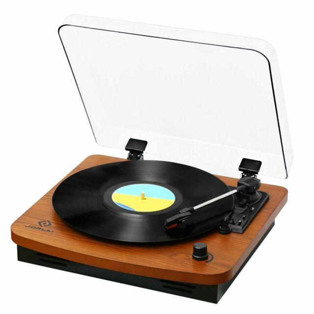 jorlai record player turntables for vinyl records 33 45 78 rpm record player for sale online. Black Bedroom Furniture Sets. Home Design Ideas