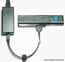External Laptop Battery Charger for Toshiba Satellite L650 L655 L675 PA3634U-1Bx