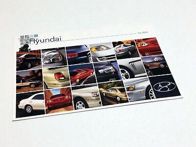Azera Sonata Tiburon Tuscon Santa Fe 2006 Hyundai 20-page Car Sales Brochure