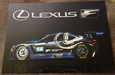 2016 Scott Pruett F Performance Racing Lexus RCF GT3 Rolex 24 IMSA WTSC postcard