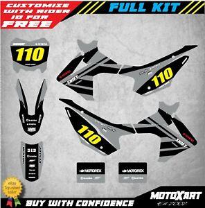 Custom-Graphics-Full-Kit-For-Honda-CRF-110-2013-2018-SPEEDER-STYLE-Stickers