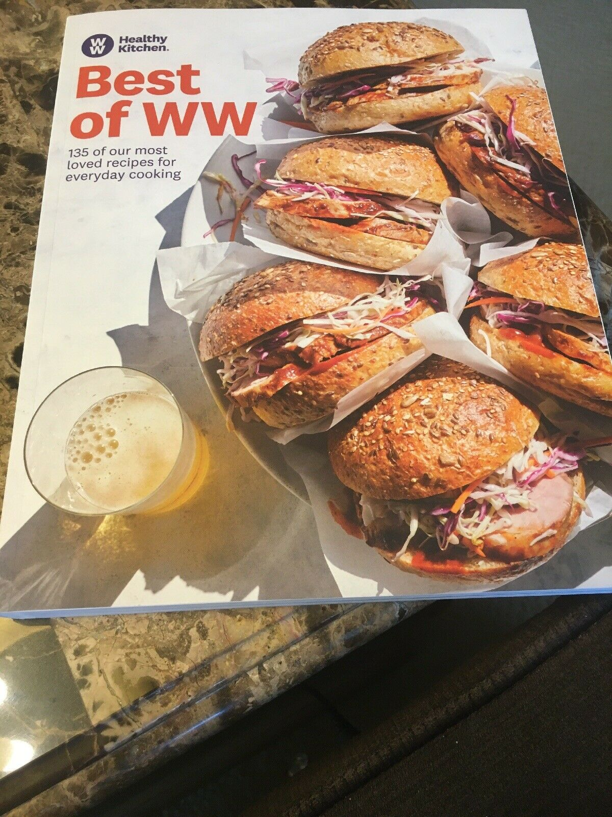 Best of WW Weight Watchers Healthy Kitchen Cookbook (2019) 135 Recipes