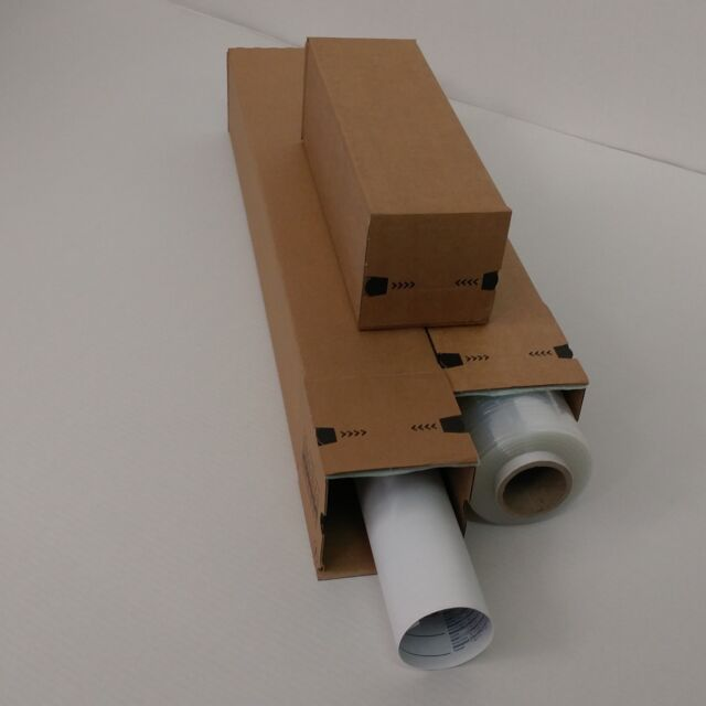 Versandhülsen 1165 x 140 x 140 mm Versandrohre eckig PP LB14.09