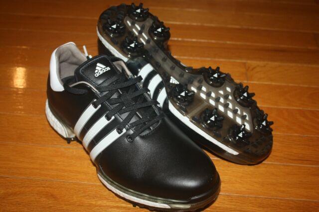 Adidas Tour 360 Boost 2 0 Golf Shoes Black White Men S Q44945 8 D For Sale Online Ebay