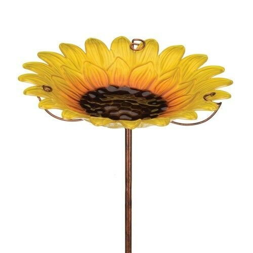 Regal Birdbath/Feeder Stake - Sunflower