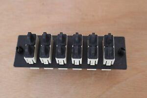 PANDUIT FAP12WEISC PAN-NET SC Fiber Adapter Panels – OM1 62.5/125μm