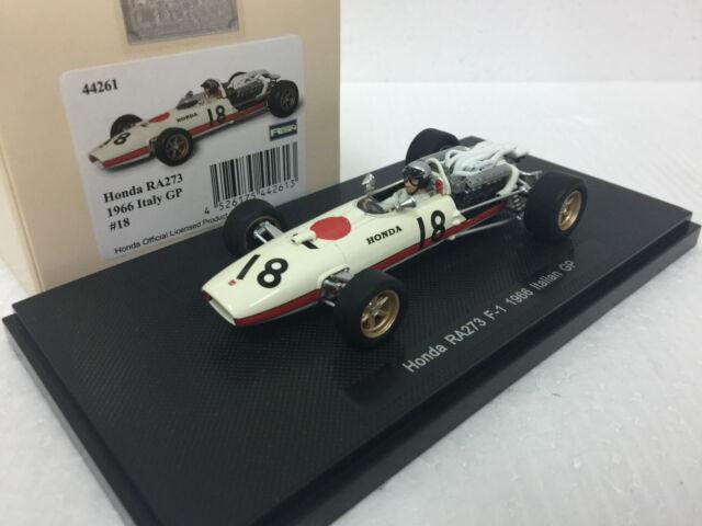 White 1//43 scale Ebbro 44262 Honda RA273 1966 Mexico GP No.12
