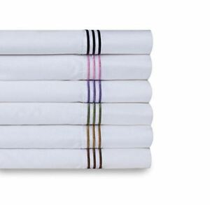 Wickham-Rope-Embroidered-Cotton-300-Thread-Count-4-Piece-Bedding-Sheet-Set
