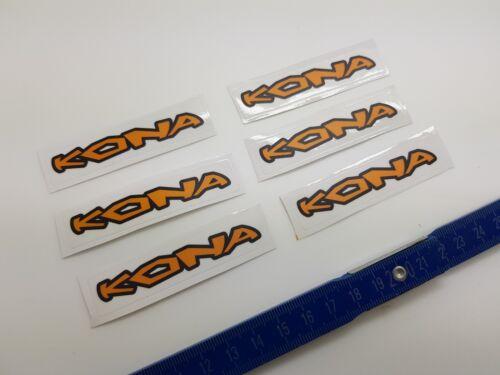 NEW Kona ® Bicycle Bike Stickers ¦ Stickers