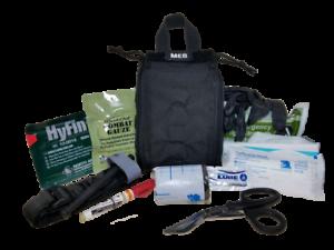 ELITE FIRST AID Patrol Trauma Kit (LvL 2) STOCKED Tactical First Responder EMS