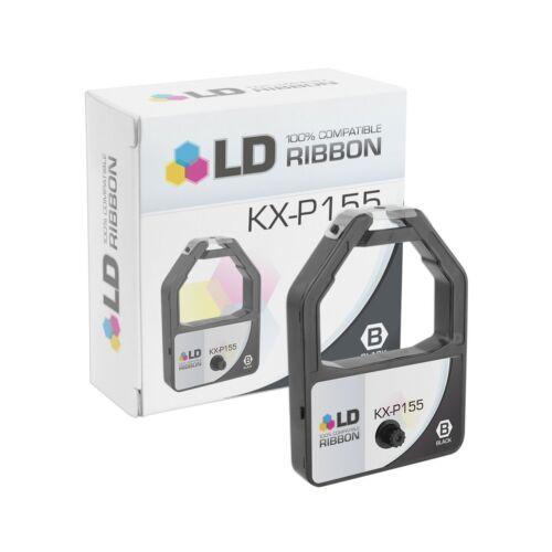 LD Compatible Panasonic KX-P155 Set of 5 Black Ribbon Cartridges