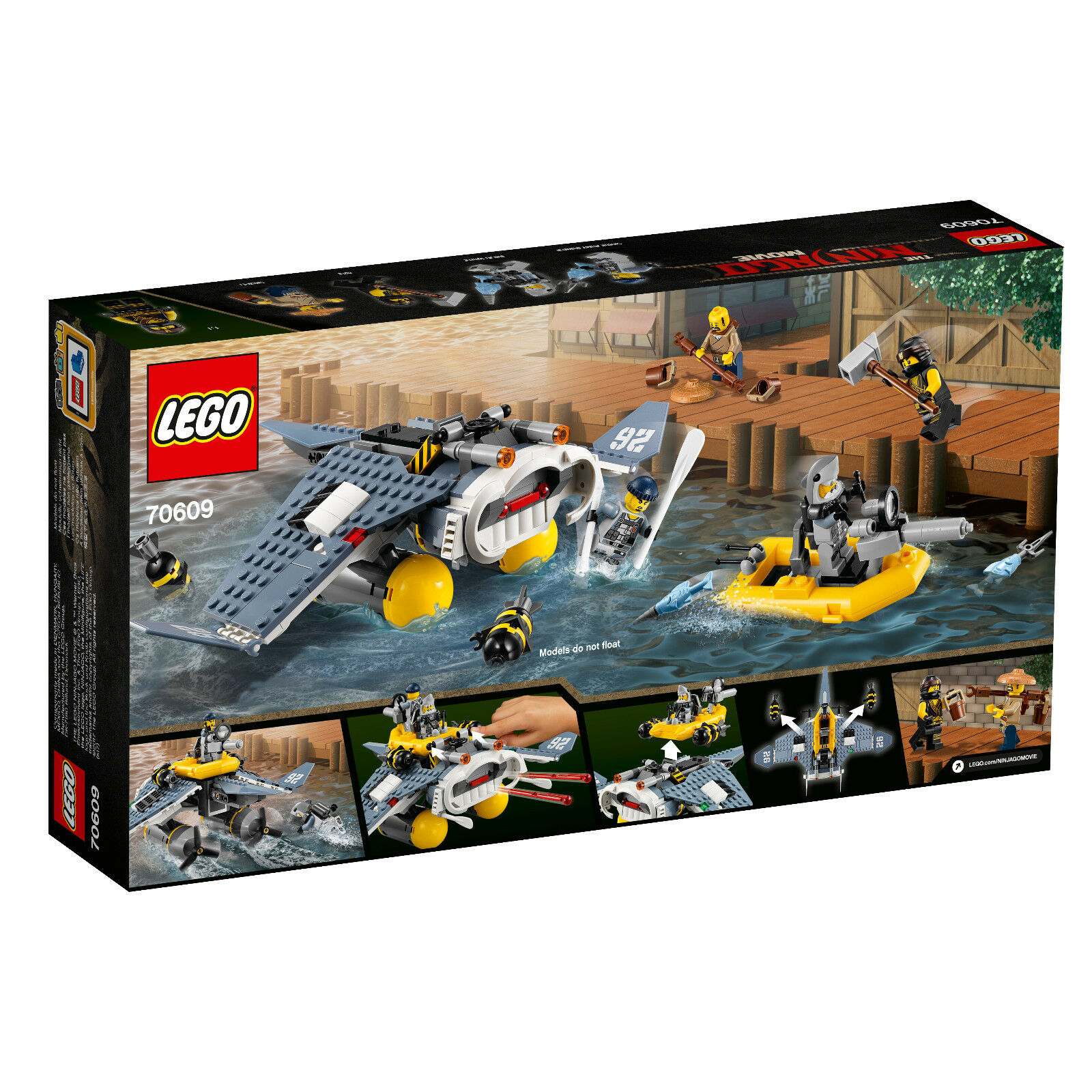 LEGO ® Ninjago Movie Set 10709 10709 10709 MANTA-Aviateur 1119d4