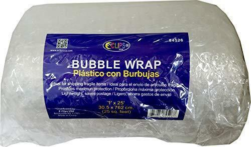 Ideal for Bulk Buyers Super Bubble wrap 1/'x 25/' Case Pack of 6