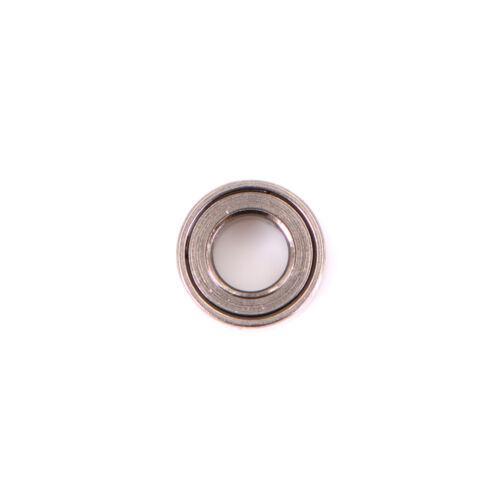 10pcs Mini Bearing Steel Bearing Rolling Ball Bearings MR63ZZ 3*6*2.5mm SilverTE