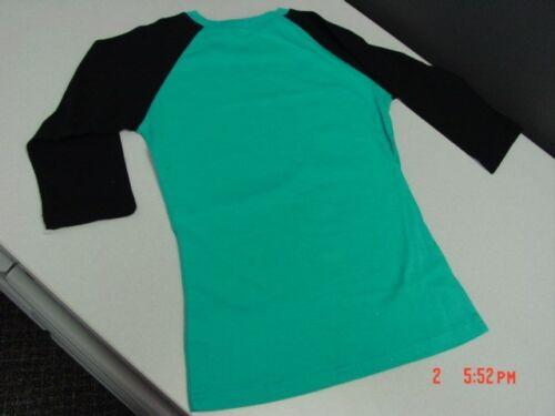 NWT Girls Novelty Baseball Shirt Owl Blue Yellow Glitter Cute Trendy