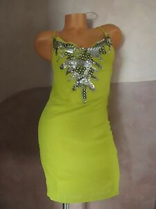 Victoria-Secret-Gorgeous-Green-Sequin-Dress-by-034-LUDA-034-Size-2-AND-SIZE-8