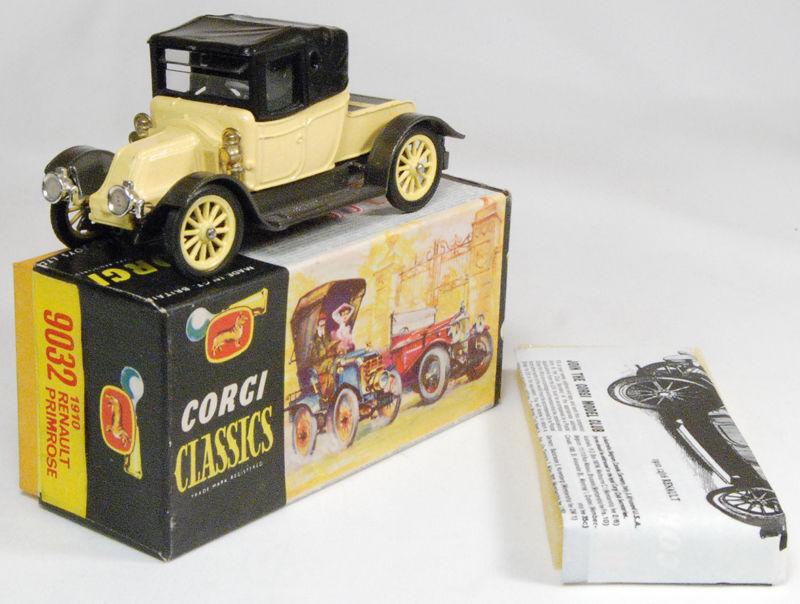 CORGI 9032 Renault 12 16 1910  Die cast voiture modèle nouvelle usine Boxed Libre Ship  jusqu'à 34% de réduction sur tous les produits