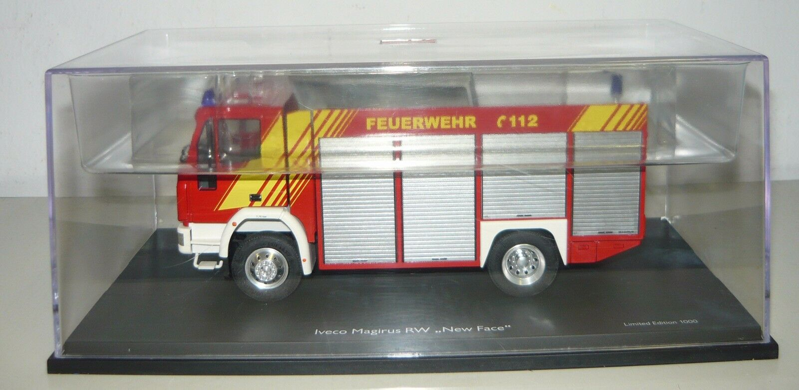 Schuco 07134, IVECO MAGIRUS RW  New Face , FW-Véhicule (Nuremberg), 1 43, neu&ovp