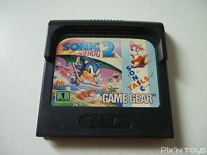 SEGA-GAME-GEAR-Jeu-Sonic-the-Hedgehog-2-Pal-Version