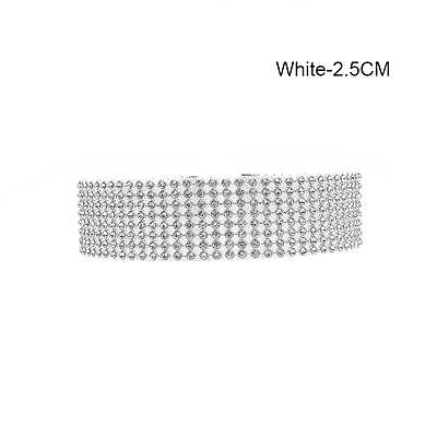 Choker Women Full Diamond Rhinestone Crystal Fashion Necklace Wedding Jewelry