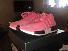 Adidas NMD R1 Primeknit PK Solar Pink Womens sizes AQ1104