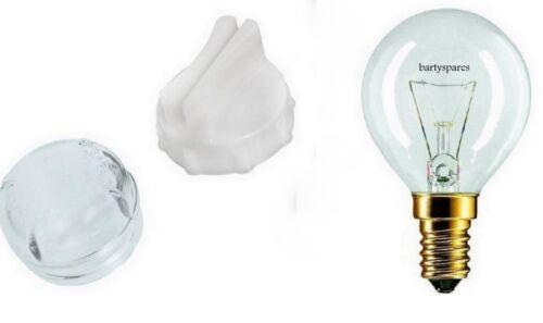 Four Cuisinière Verre Ampoule Lentille /& outil extracteur Pour Bosch Neff 647309 avec 40 W lampe