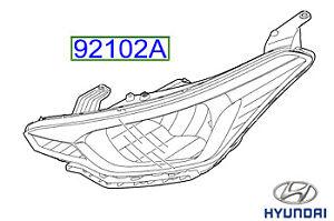 Genuine-Hyundai-i20-Head-Light-LH-Side-92101C8010