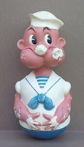 Ancien-jouet-POPEYE-CULBUTO-jeu-vintage-1965-KFS-vintage-old-toy-roly-poly