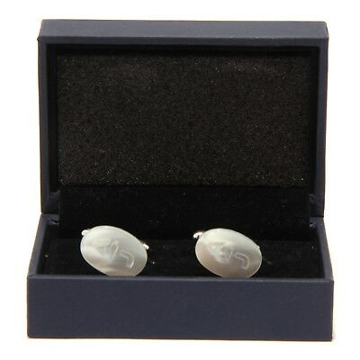 Kind-Hearted 9688s Gemelli Da Polso Armani Jeans Madreperla Cufflinks Men's Accessories Clothing, Shoes & Accessories
