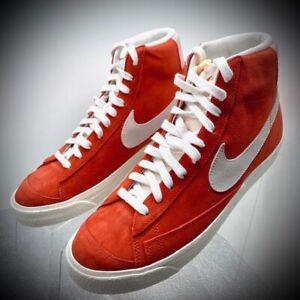 almohadilla Shipley musical  Nike Blazer Mid 77 Suede Habanero Red CZ1088-600 Men's Size 8.5 New In Box  | eBay
