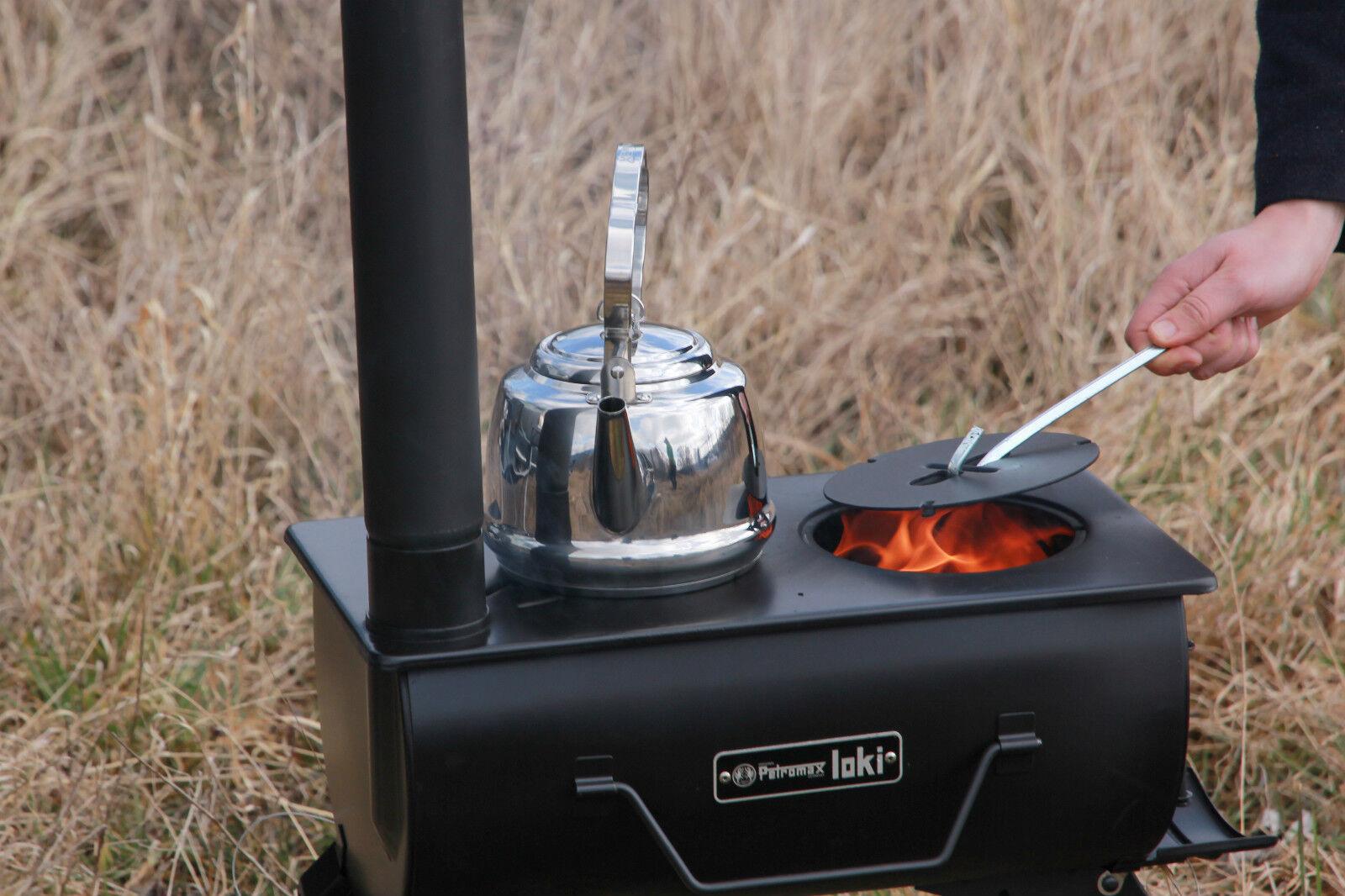 Petromax Loki Campingkocher / Zeltofen optional mit Zubehör