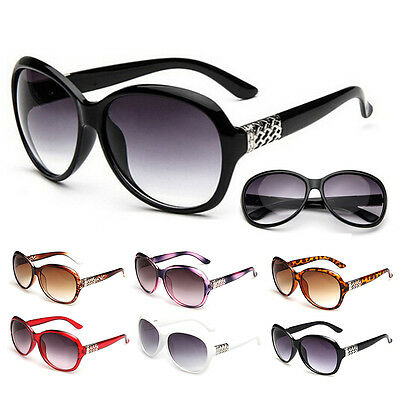 New Fashion esigner Vintage Sunglasses Womens Oversized Retro Glasses Eyewear