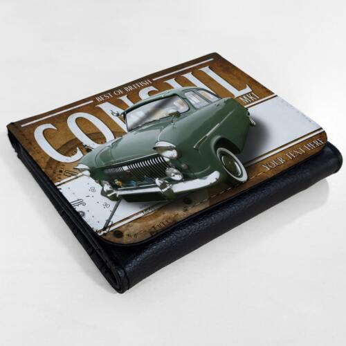 Personalised Ford Consul mk1 Wallet Classic Car Leather Mens Dad Gift CL08
