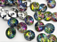 Sharp Bottom Acrylic Buttons Bags Garment Sewing Accessories DIY Crafts 50Pieces
