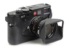 Artisan & Artist Leather Half Case for Leica M6 TTL & M7 Cameras. Black LMB-M7