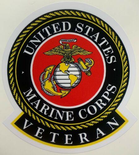 US Marine Corps  Veteran Sticker Waterproof New D213