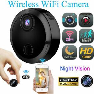 1080P HD Mini Spy Camera Wireless Wifi IP Home Security DVR Night Vision Remote