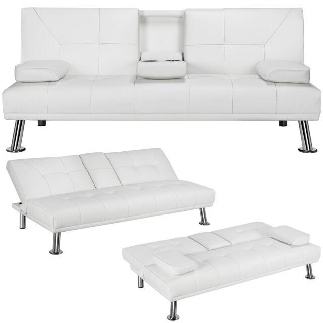 Futon Cough Sofa Bed Sleeper Faux