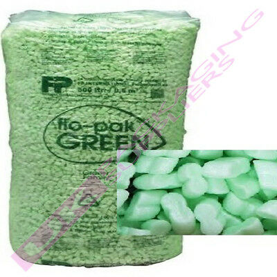 QUALITY FLOPAK SUPER 8 PACKING PEANUTS VOID SPACE LOOSE FILL *MULTI QTY LISTING*