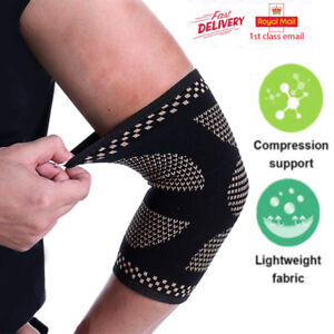 Elbow-Brace-Support-Arm-Sleeve-Pads-Strap-Arthritis-Guard-Bandage-Wrap-Band-Gym