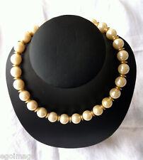 1980s GIVENCHY Vintage Necklace FAUX PEARL - COUTURE SUBLIME COLLIER DE PERLES